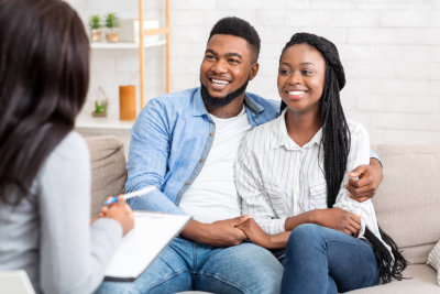 couple on a counseling
